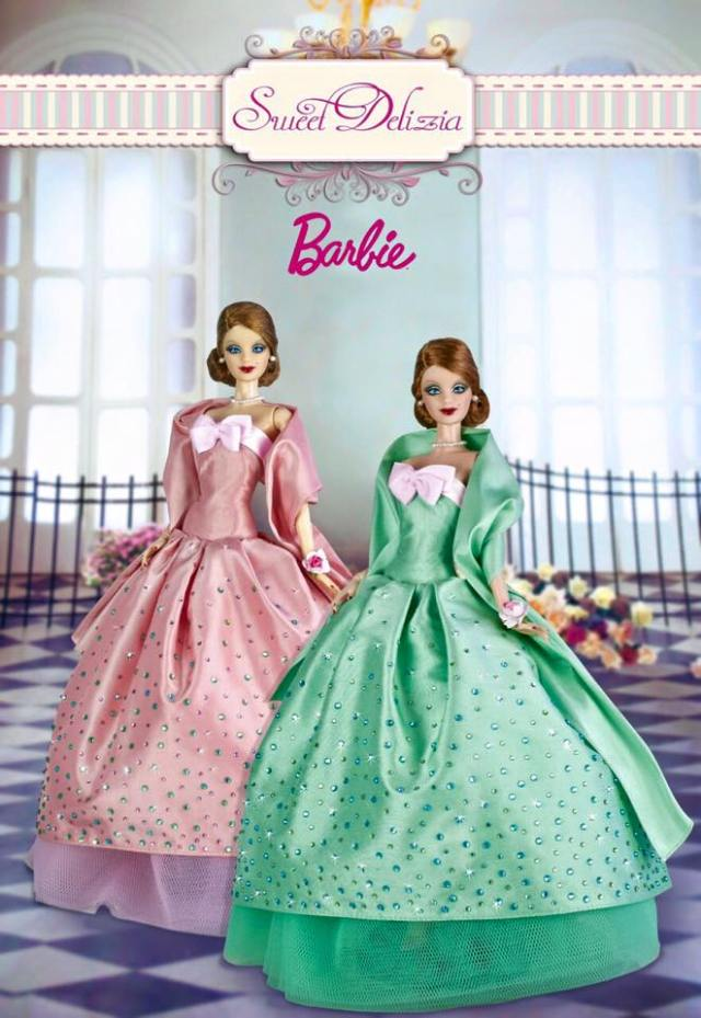 2015 ITALIAN DOLL CONVENTION - Sweet Delizia pink and green