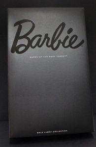 2015 Queen of the Dark Forest™ Barbie® Doll. box