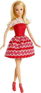 2015 Valentines Day Barbie doll F