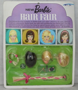 #4042 1966 MOC Hair Fair Wigs