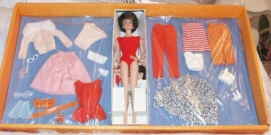 857`MIX N MATCH Gift Set~BarbieBubbleCut~Brunette~NRFB