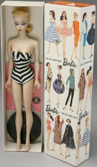1959 #850 NO.1 Barbie Teen Age Fashion Model ™