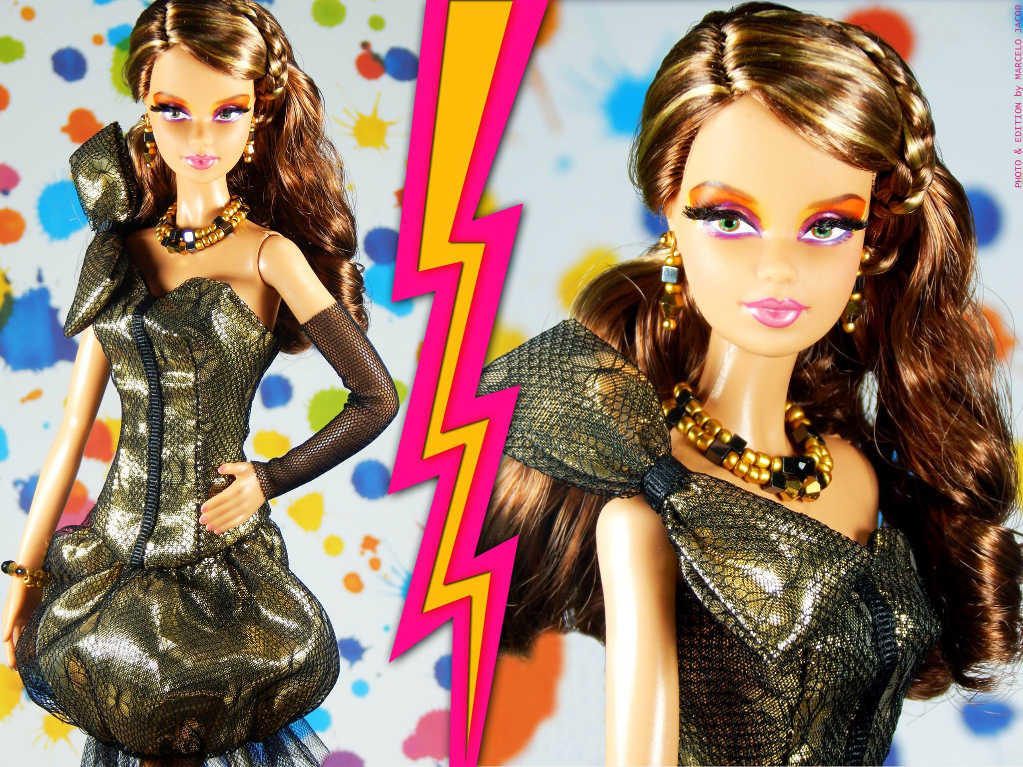 Target Barbie Fashionistas Dolls 2015 Golden Eternity Barbie