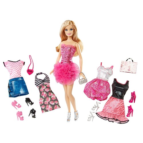 Barbie 5-Fashions Barbie Doll