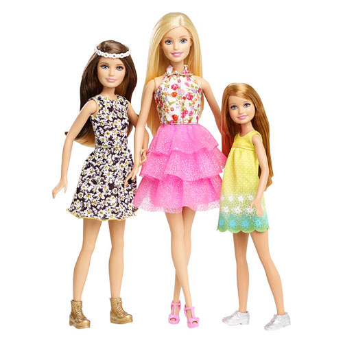 Barbie and Her Sisters in The Great Puppy Adventure Doll 3-Pack