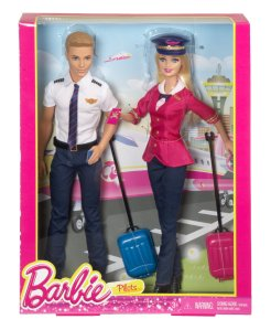 Barbie Careers Barbie and Ken Doll Giftset n