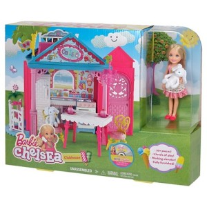 Barbie Chelsea Clubhouse! Playset