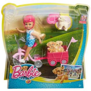 Barbie-Chelsea-Doll-with-Puppy-and-Trike