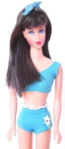 Barbie Dolls Sears Exclusive Twinkle Town Gift Set dark brown hair