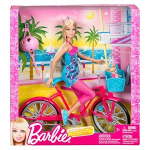Barbie Fab Life Doll and Bike Playset nrfb