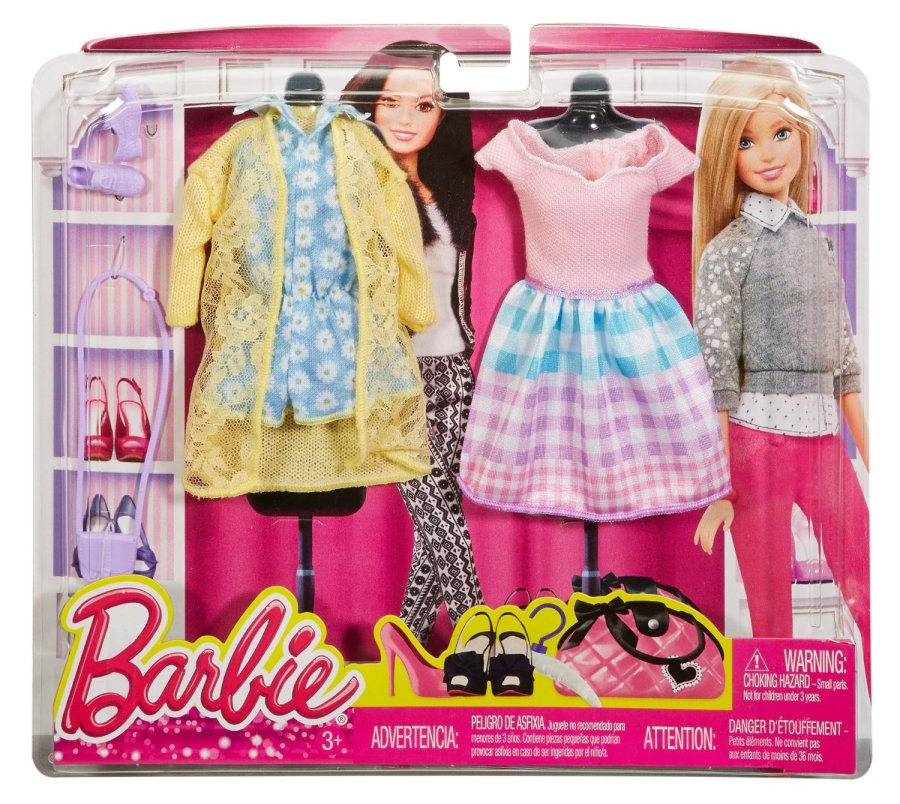 Barbie Fashion Pack 2 Somewhere Over The Gingham Rainbow
