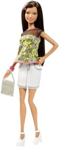 Barbie Fashionista Doll with Yellow Shirt