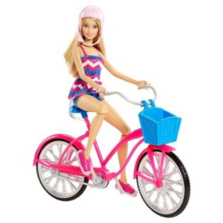 Barbie Glam Bike giftset