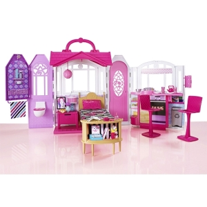 Barbie Glam Getaway House inside