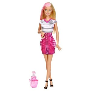 Barbie Glam Hair and Nail Doll - Pink