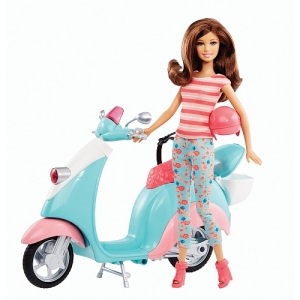 Barbie - Glam Scooter with Teresa doll