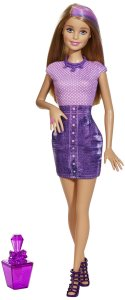 Barbie Glitz & Glam Hair and Nail Doll Purple