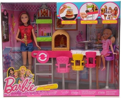 Barbie & her sister's Skipper Pizzeria Playset