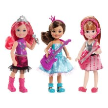 Barbie Rock 'n Royals Chelsea Dolls
