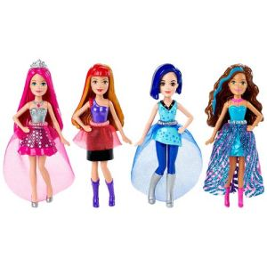 Barbie Rock 'n Royals Mini-Doll Case