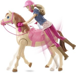 Barbie Saddle-n-Ride Horse cl