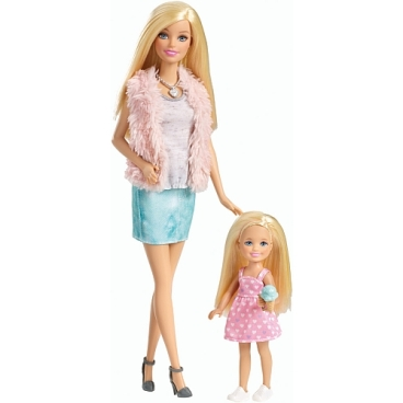 Barbie Sisters' Fun Day! 2-Pack- Barbie and Chelsea