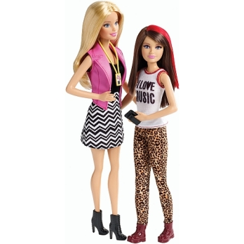 Barbie Sisters' Fun Day! 2-Pack- Barbie and Skipper