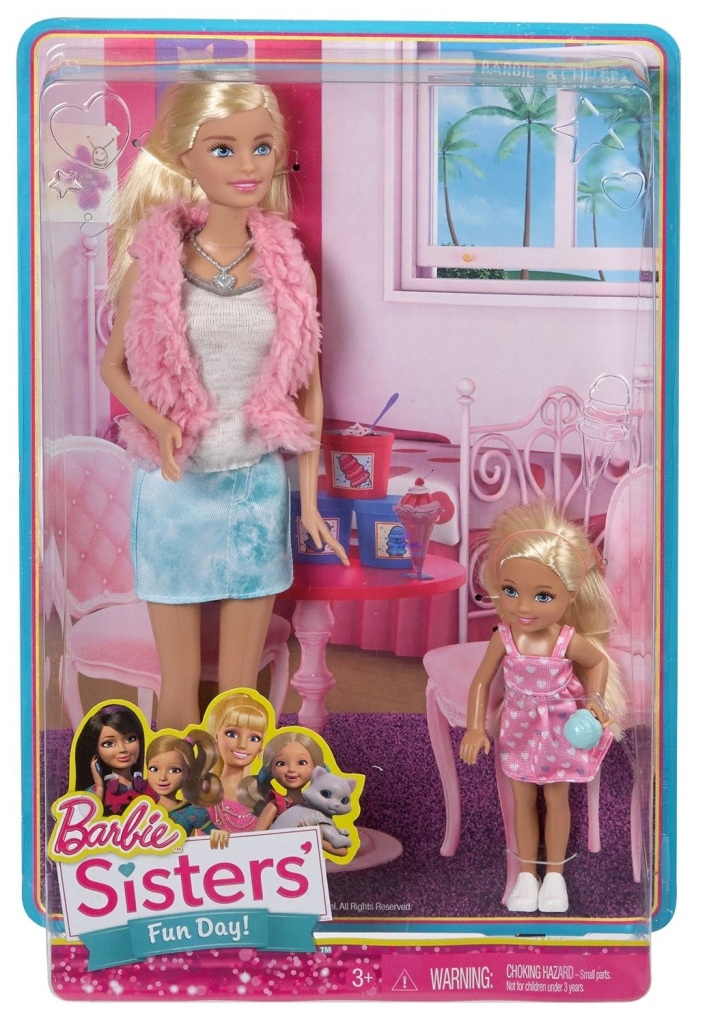Barbie Sisters Fun Day Barbie And Chelsea Barbie Doll Friends And Family History And News From 1959 To The Present