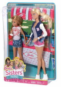Barbie Sisters Fun Day - Barbie and Stacie