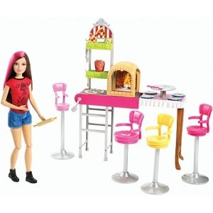 Barbie Sisters' Fun Day! Pizzeria