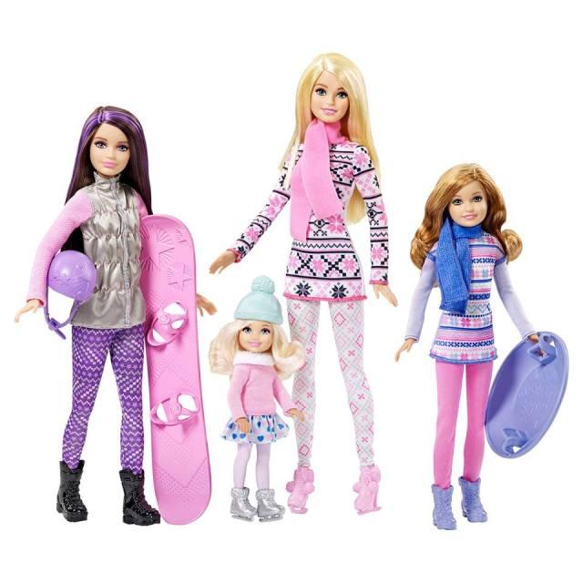 Barbie Sisters' Winter Fun Dolls Flyer