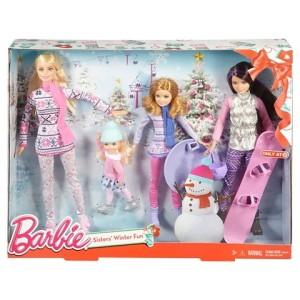 Barbie Sisters' Winter Fun Dolls
