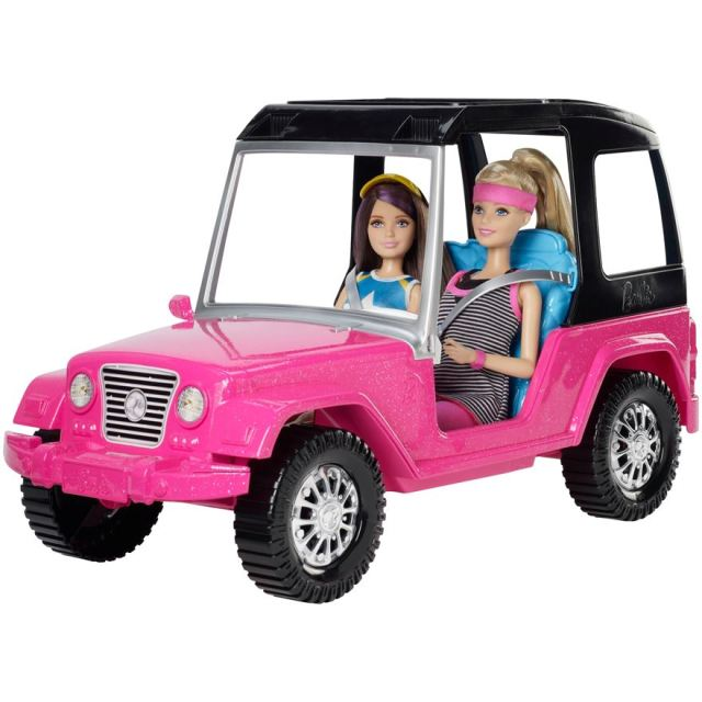 Barbie & Skipper Jeep 2015