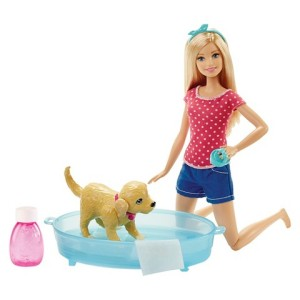 Barbie Splisch Splash Pup Giftset