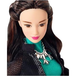 Barbie Style Glam Doll - Flower Skirt Dress Face