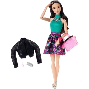 Barbie Style Glam Doll - Flower Skirt Dress
