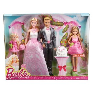 Barbie Wedding Gift Set n