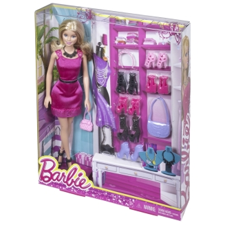 Barbie® Doll & Accessory Gift Pack - Blonde nrfb