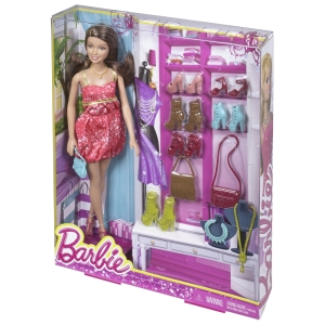 Barbie® Doll & Accessory Gift Pack - Brunette nrfb