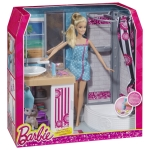 BARBIE® Doll and Deluxe Bathroom