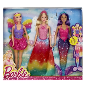 Barbie® Fairytale 3 Doll Gift Set