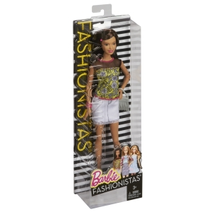 Barbie® Fashionistas® Doll - Denim & Lace nrfb