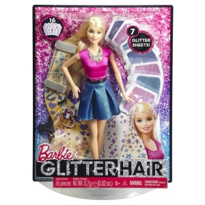 Barbie® Glitter Hair Doll n