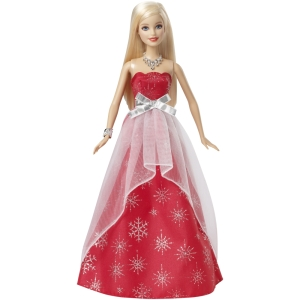 Barbie® Holiday Sparkle!™ Doll b