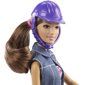 Barbie® Saddle 'N RIde Horse™ and Teresa® Doll f