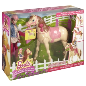 Barbie® Saddle 'N RIde Horse™