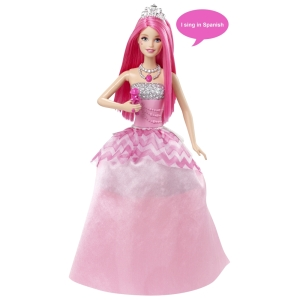 Barbie™ in Rock 'n Royals Courtney™ Doll - Spanish Language