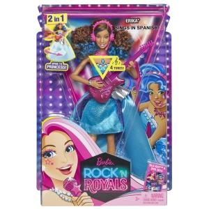 Barbie™ in Rock n Royals Erika® Doll - Spanish Language nrfb