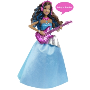 Barbie™ in Rock n Royals Erika® Doll - Spanish Language