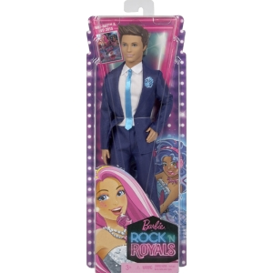 Barbie™ in Rock n Royals Prince Doll nrfb